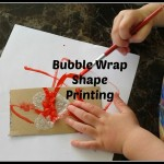Guest post multi crafting mummy-bubble wrap printing