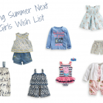 Spring/Summer Girls Next Wishlist