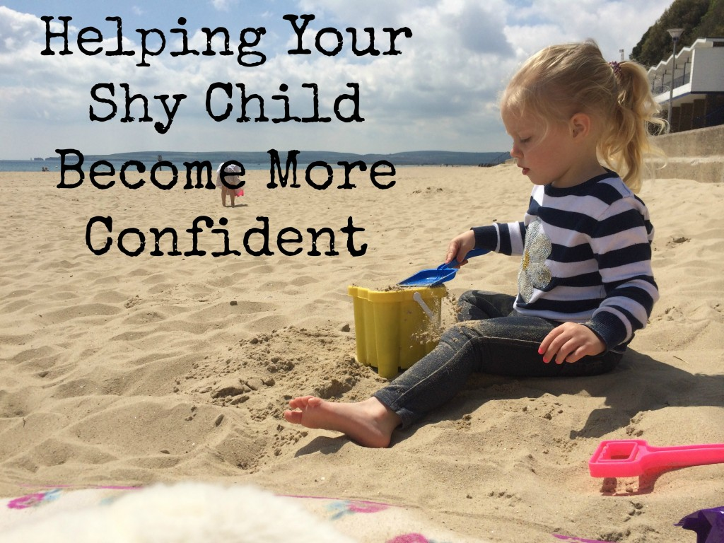 Helping your shy child become more confident
