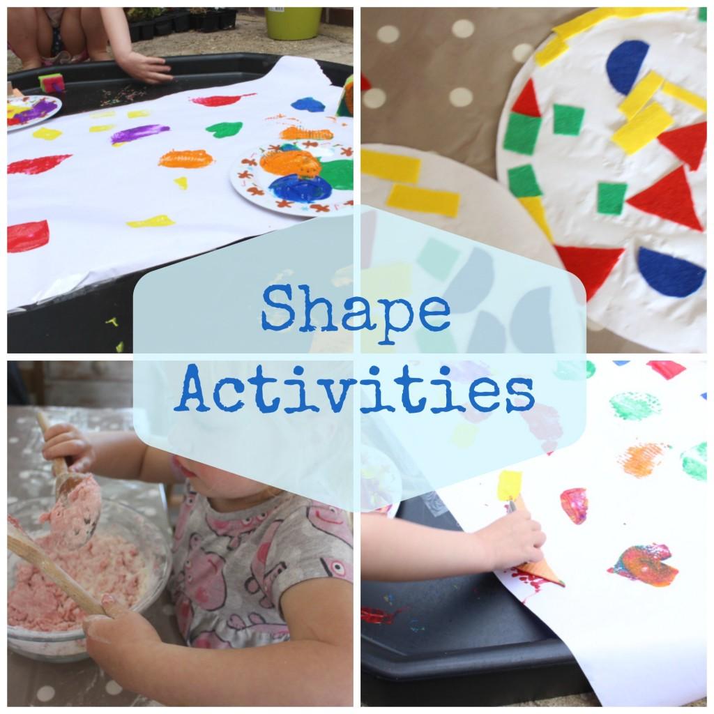 shape activities