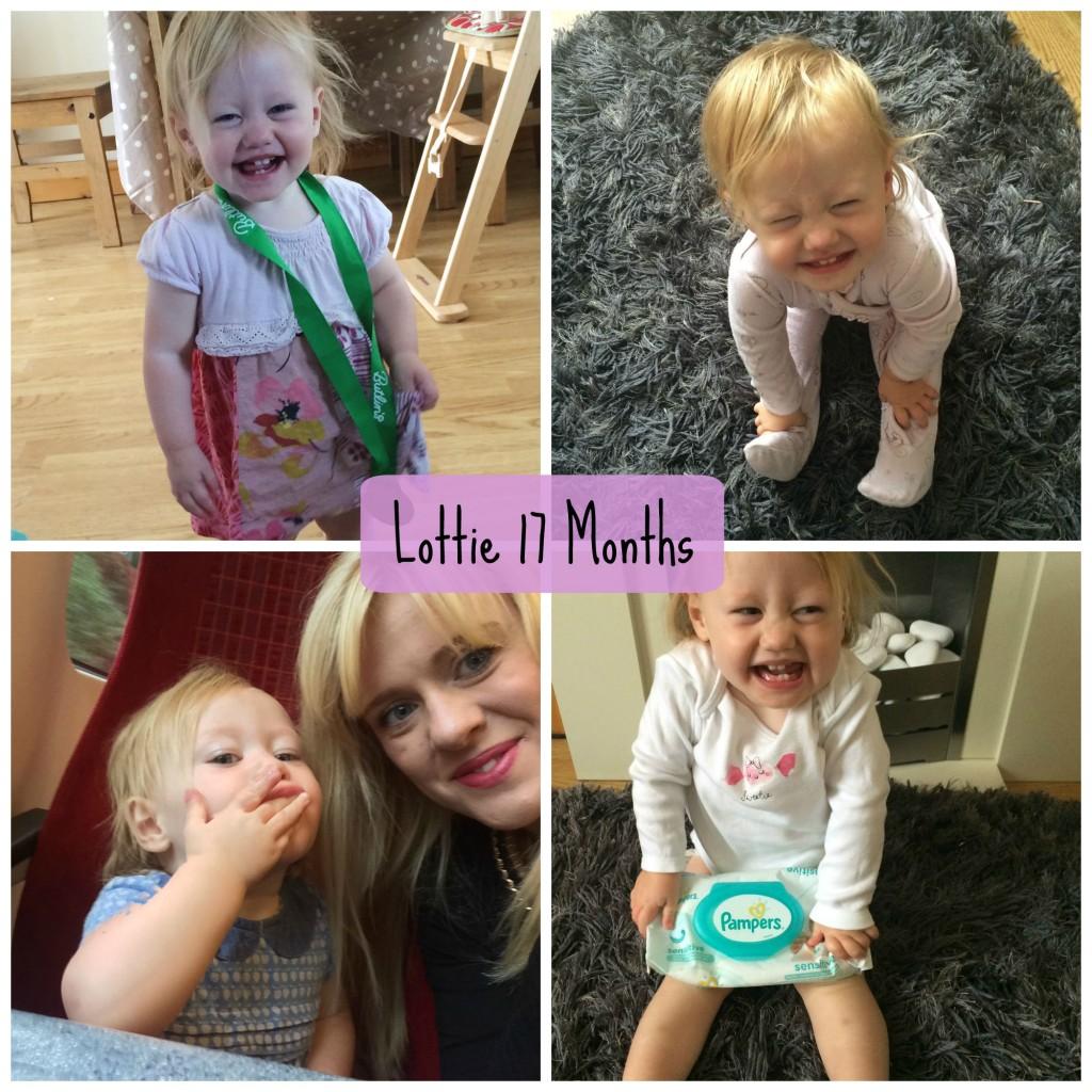 Lottie 17 months