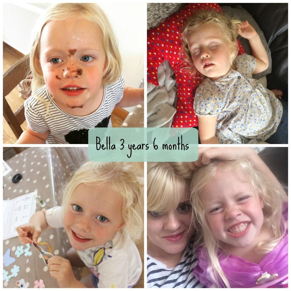 bella 3 years 6 months