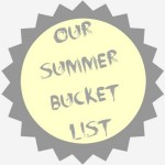 Summer Holiday's Bucket List