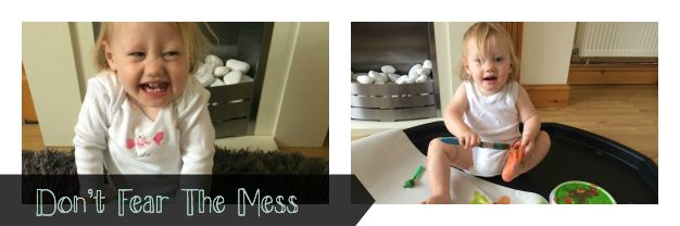 Don't fear the mess with Pampers