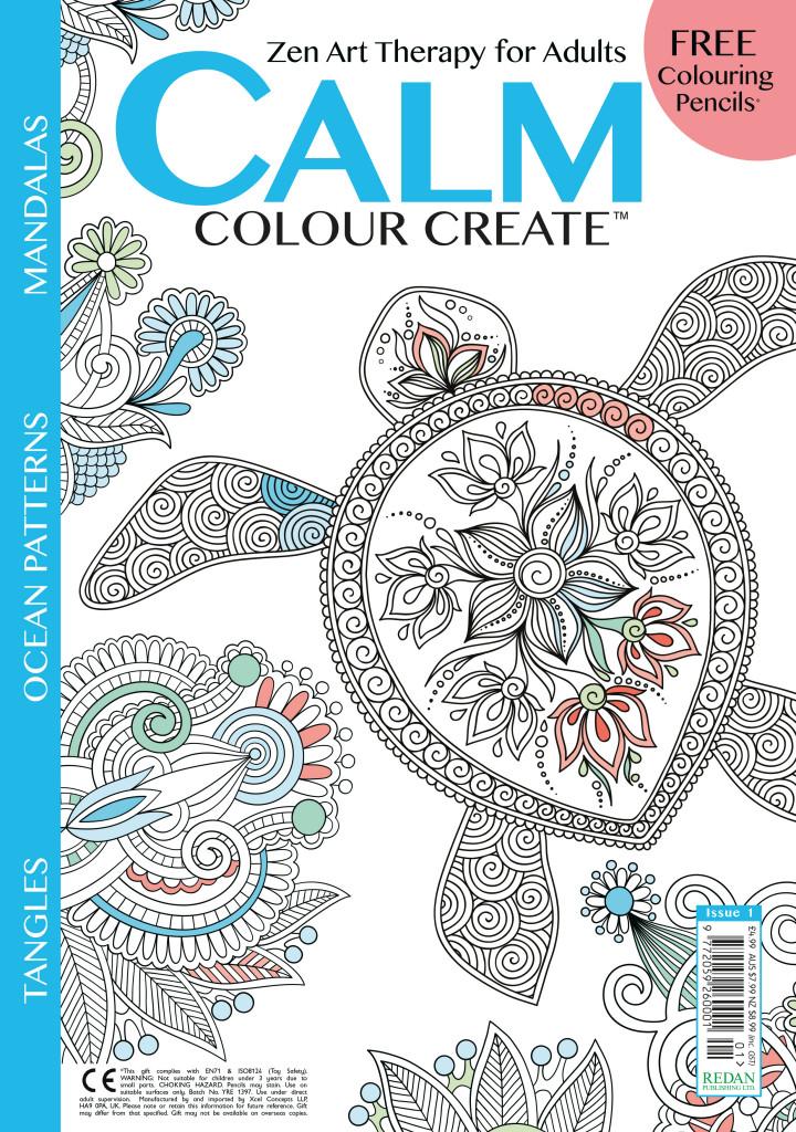 Calm, Colour, Create # 1