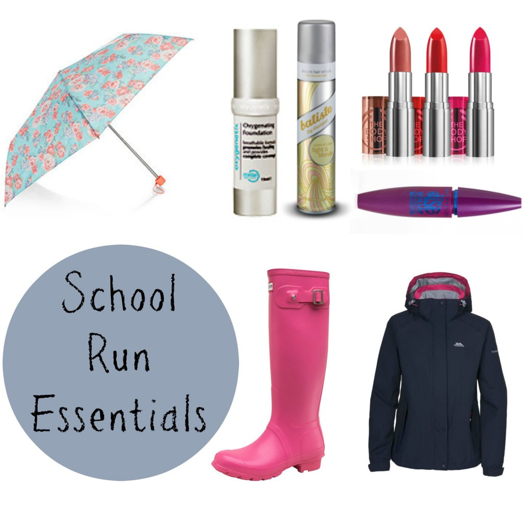 school run essentials