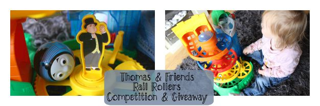 Thomas & friends Rail Rollers Review & Giveaway