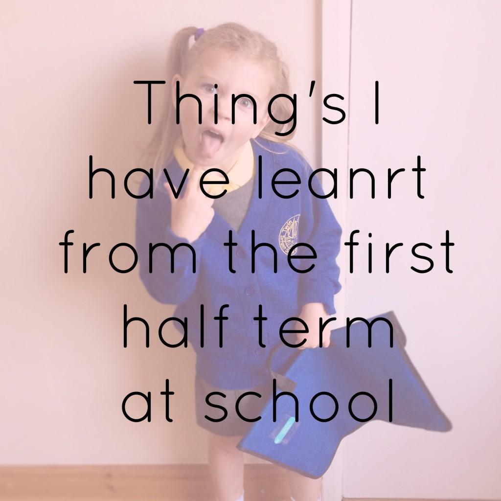 first half term