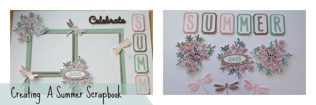 Creating a summer scrapbook| Giveaway