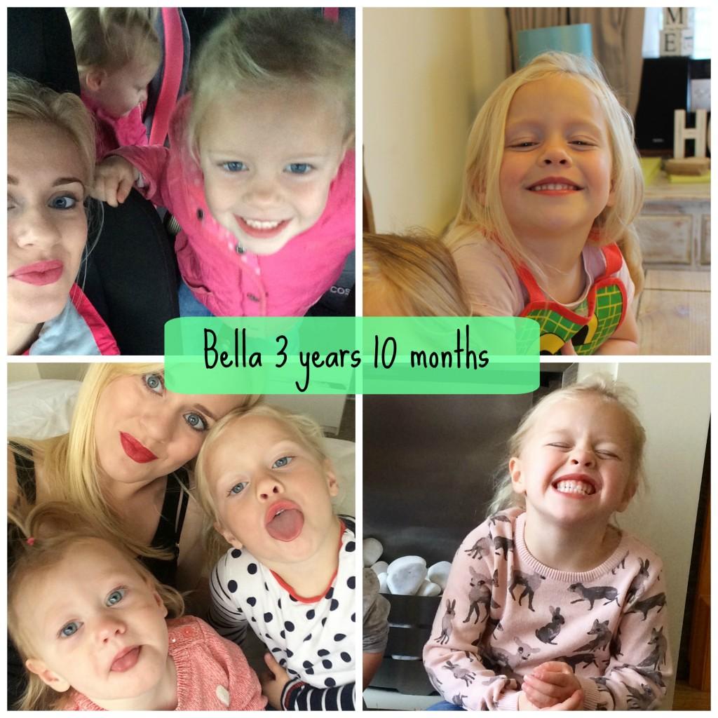 bella 3 years 10 months
