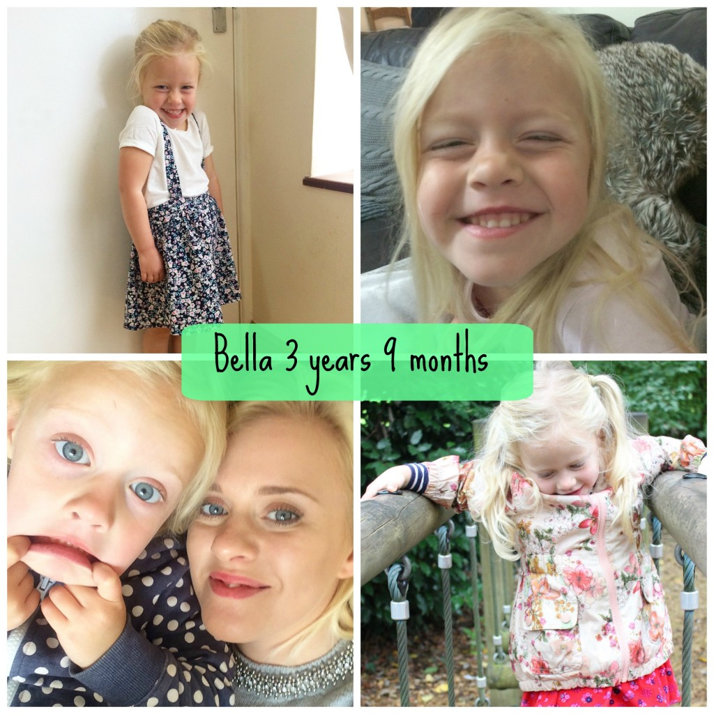 bellas 3 years 9 months