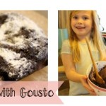 Snowflake brownie's with Gousto