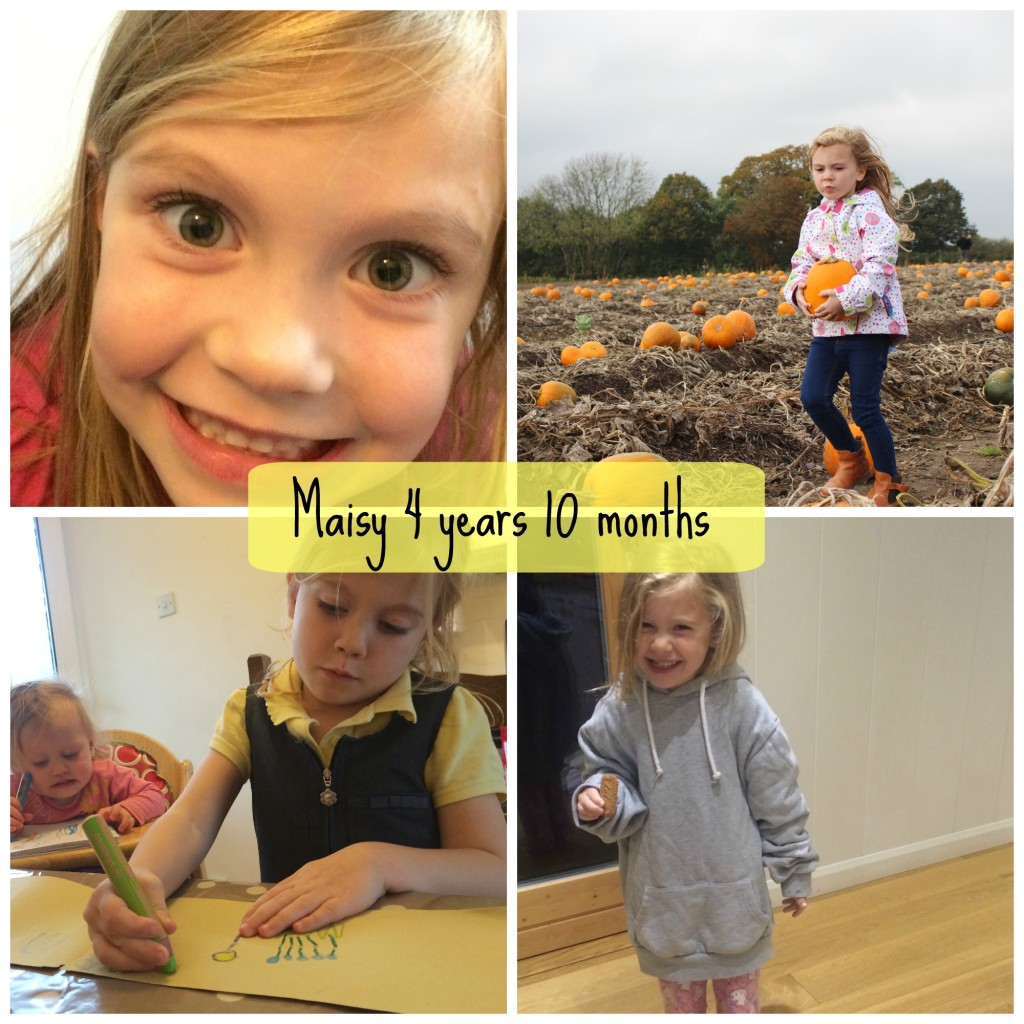 maisy 4 years 10 months