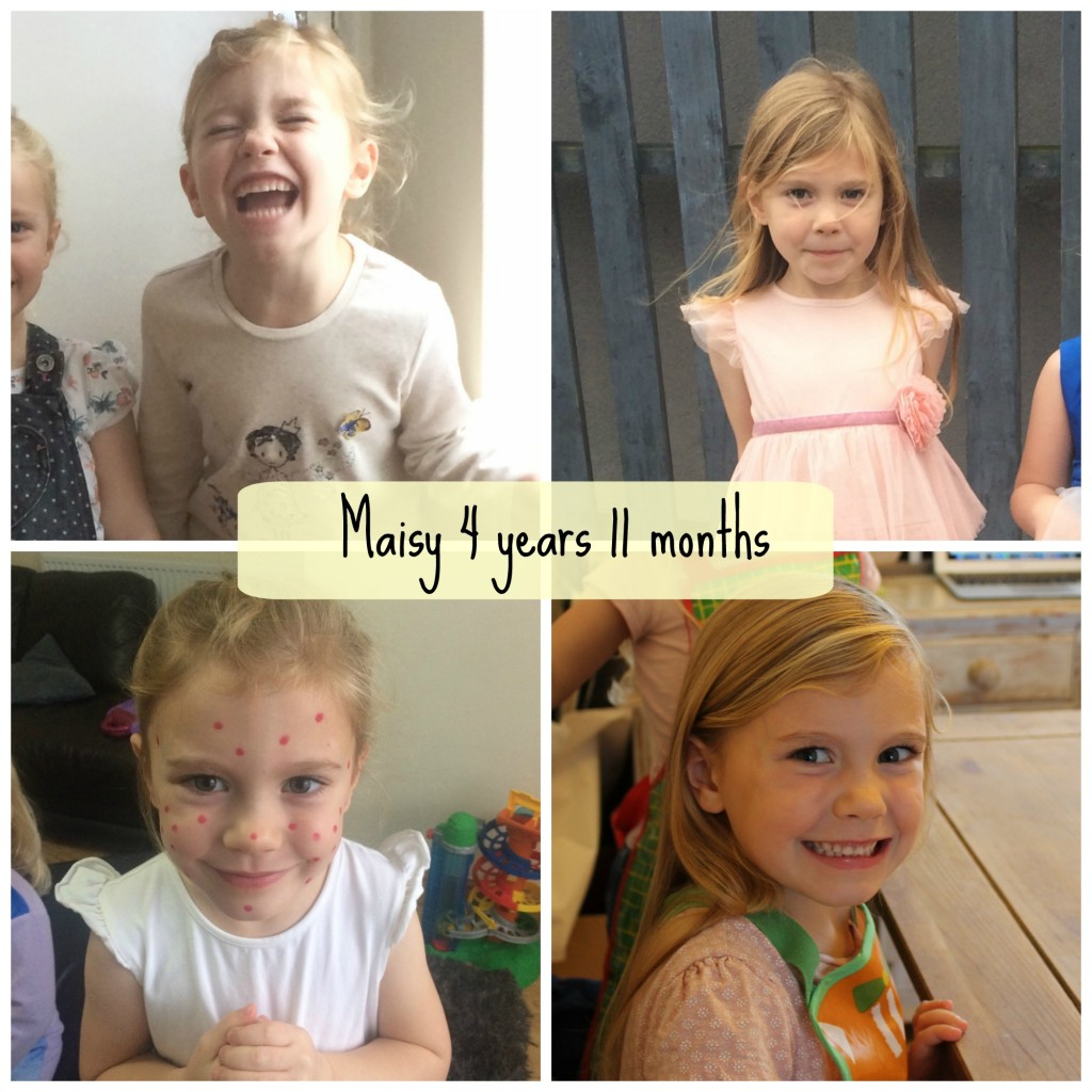 maisy 4 years 11 months