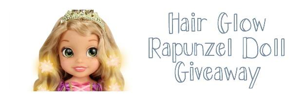 Hair glow Rapunzel giveaway