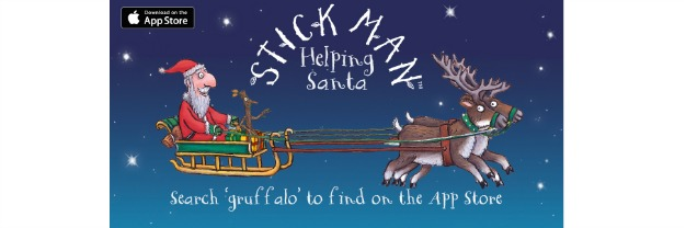 Stick Man: Helping Santa App