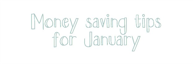 Money saving in January & Competition