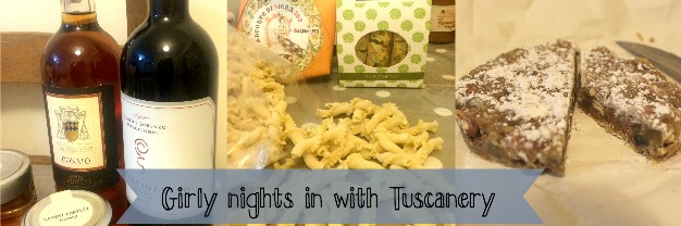 A girly night in with Tuscanery