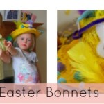 Making easter bonnets