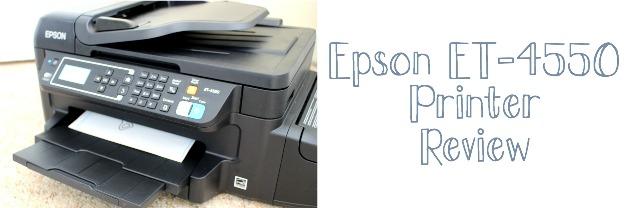Epson EcoTank ET-4550 review
