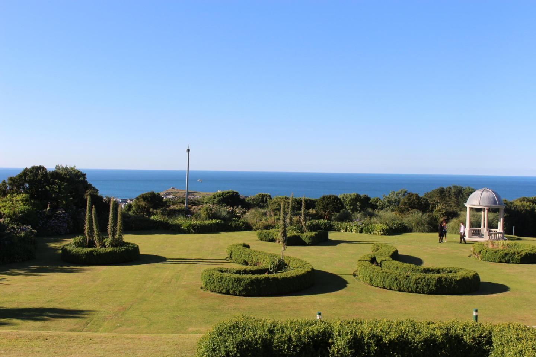 Tregenna castle view of St. Ives