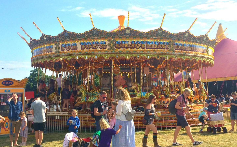 Camp Bestival Carousel