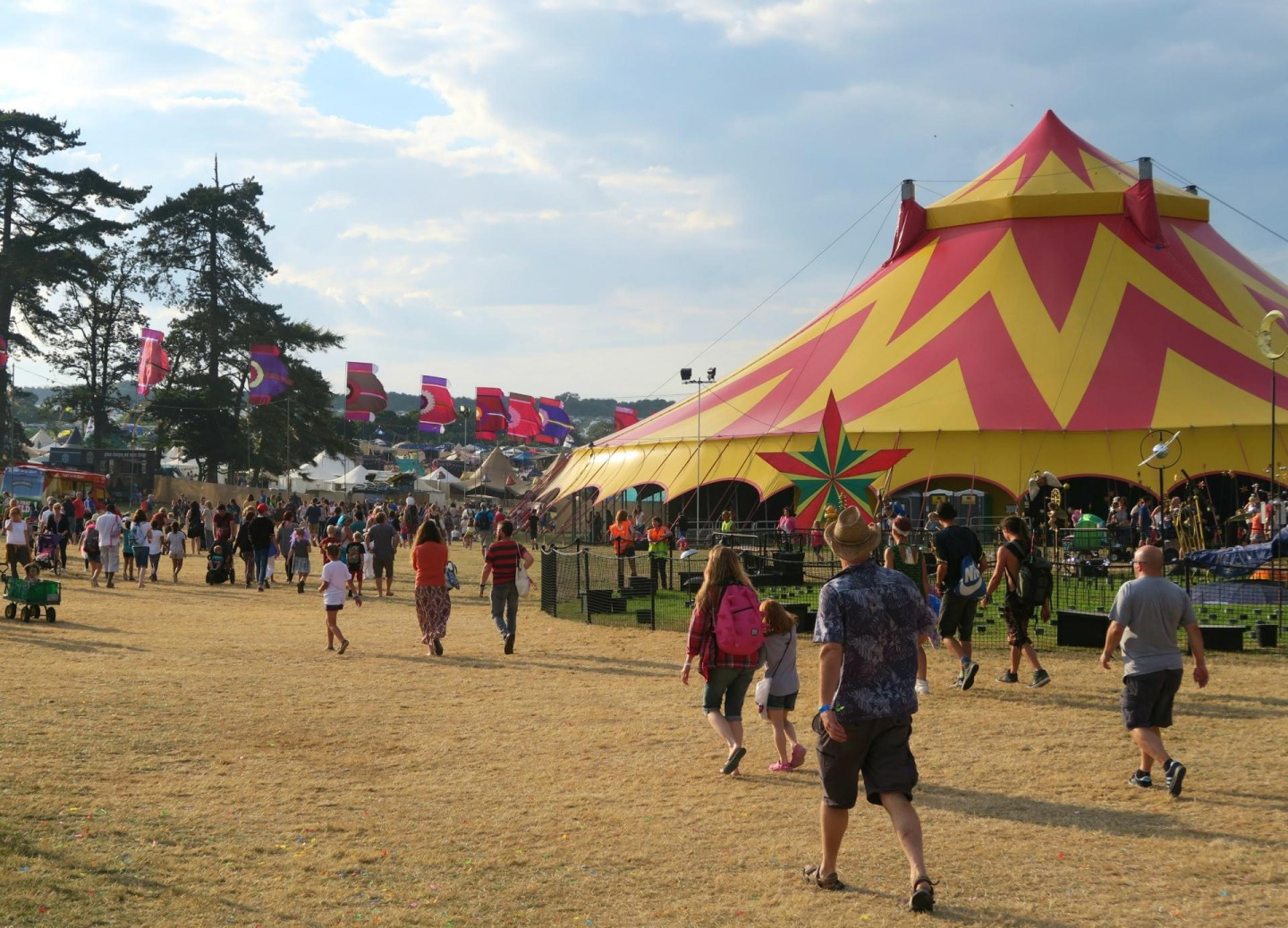 big top Camp Bestival