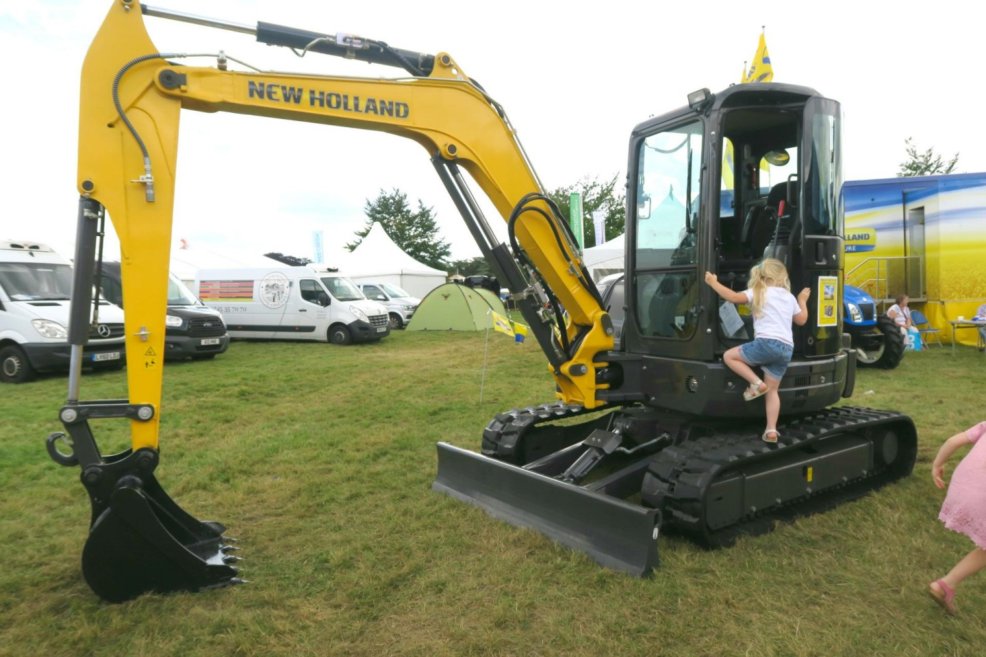 Countryfile Live 2016 digger