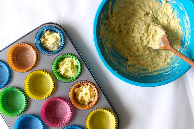 Cheesy Vegetable Muffin recipe