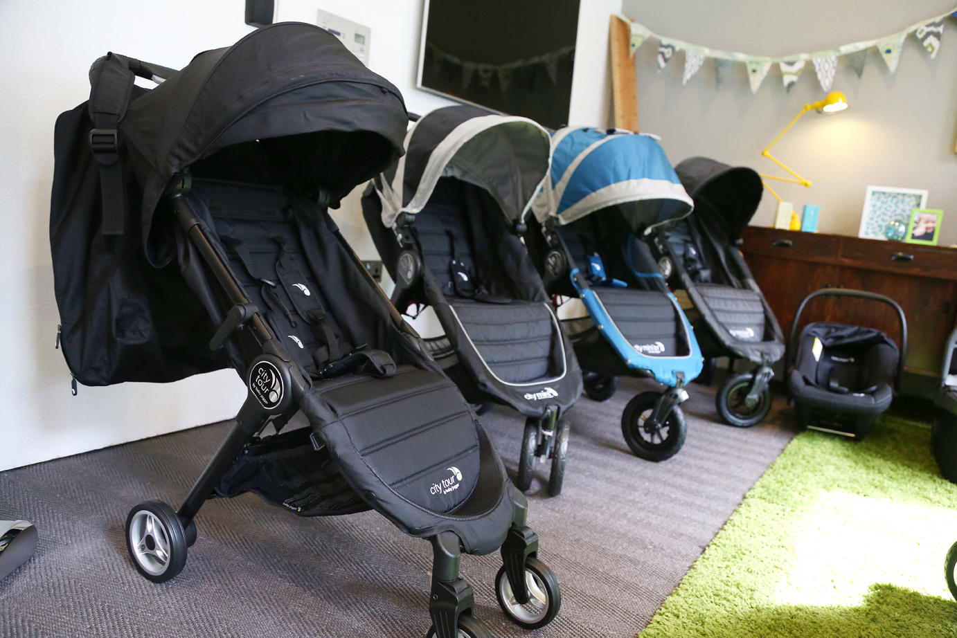 Baby jogger event - city tour