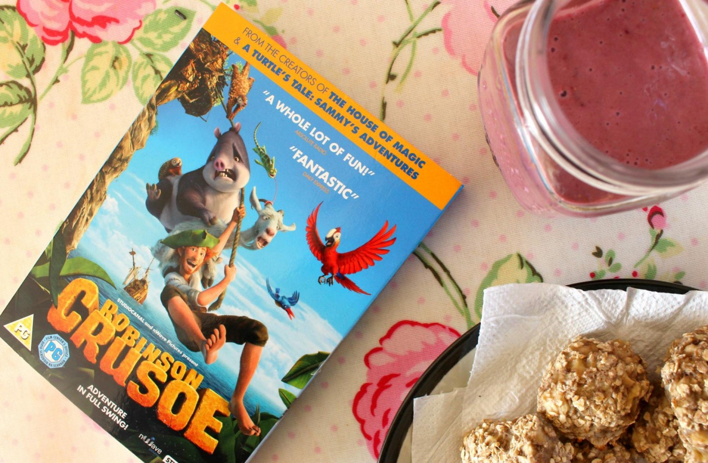 Robinson Crusoe and healthy snacks