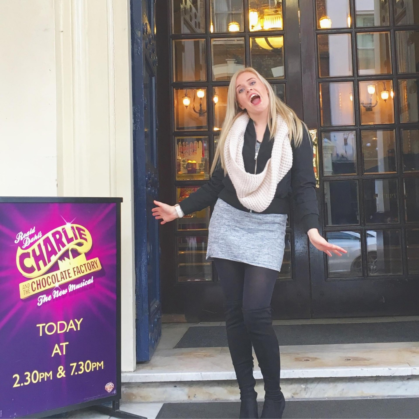Charlie and the chocolate factory Theatre Royal Drury Lane