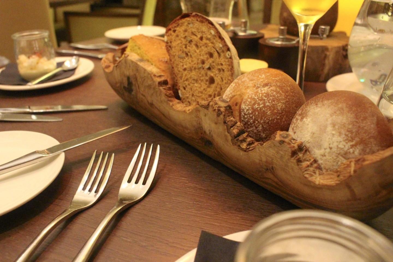 Dinner in the Cambium Restaurant Careys manor