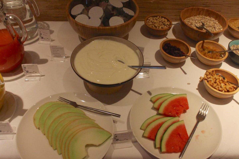 Breakfast in the Zen Garden at Careys Manor Hotel