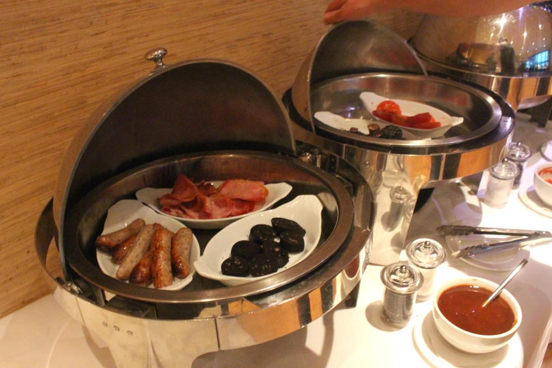 Breakfast at the Zen Garden restaurant at Careys Manor Hotel