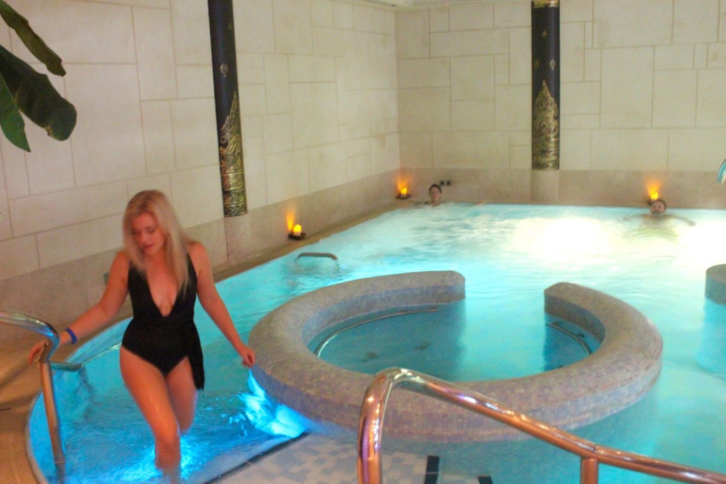 Careys manor, sen spa hydro Pool