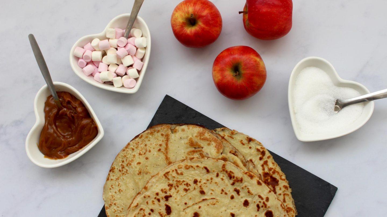 Apple pancake recipe