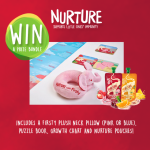 Win A NURTURE FRUITY WATER+ Prize Bundle