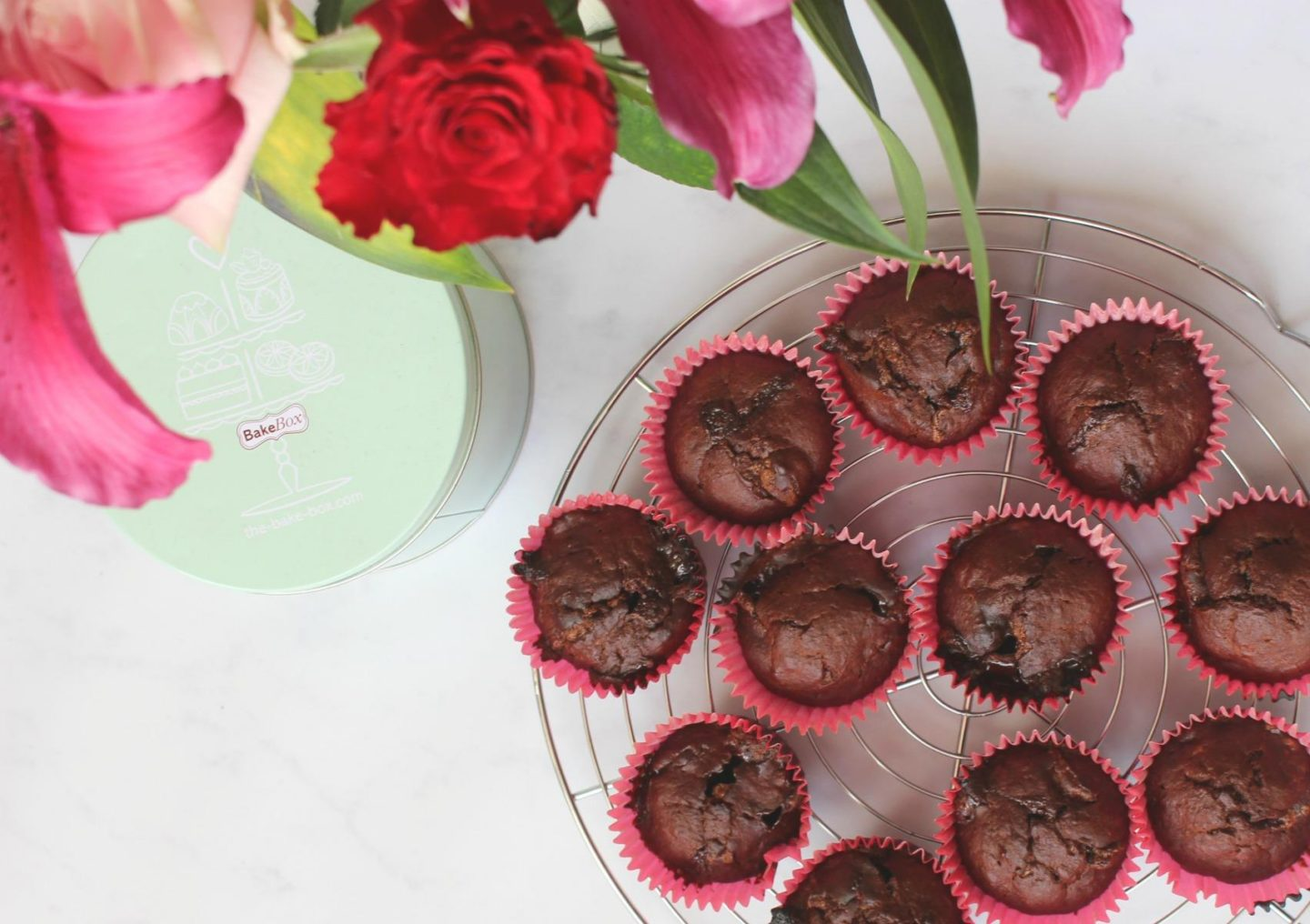 Chocolate & Banana Muffins