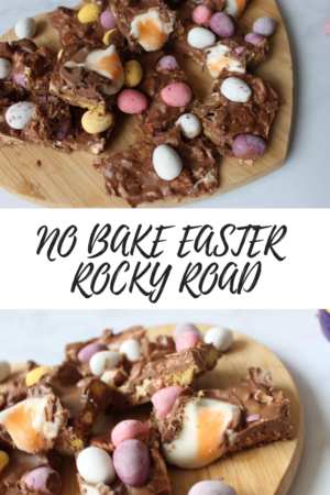 No bake easter rocky road recipe