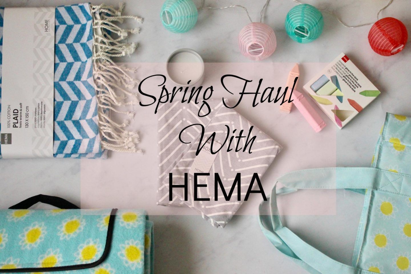 Spring haul with HEMA