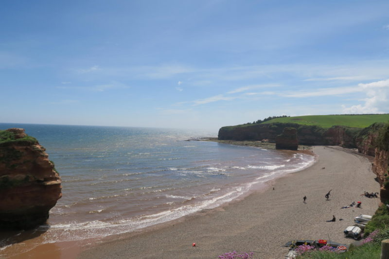 Ladram Bay Holiday Park in Devon