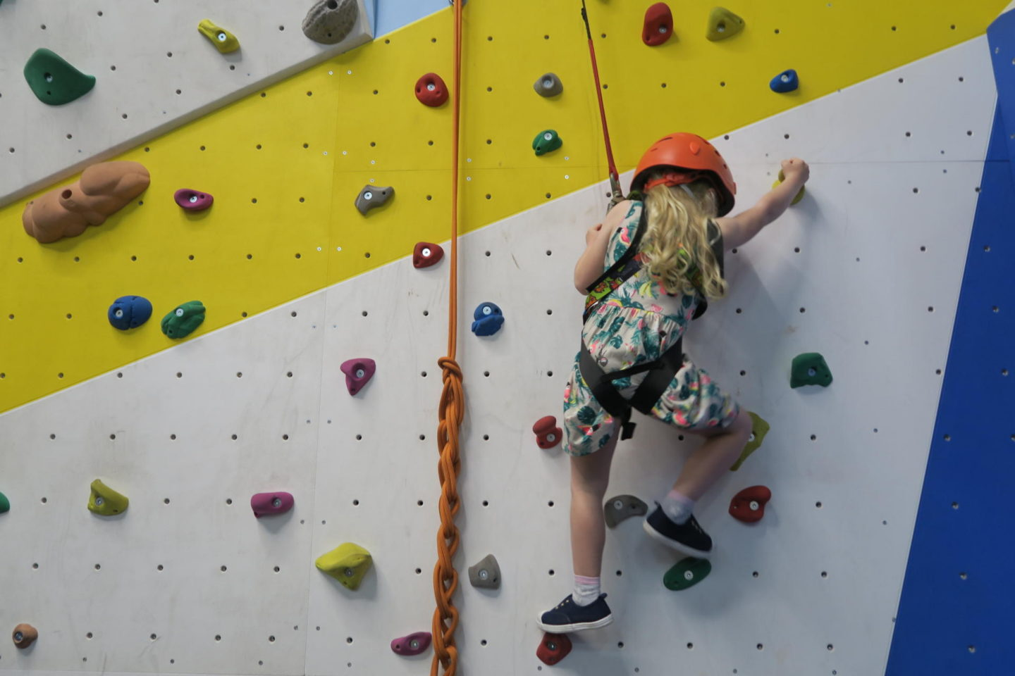 Rock Climbing at Ladram Bay Holiday Park in Devon