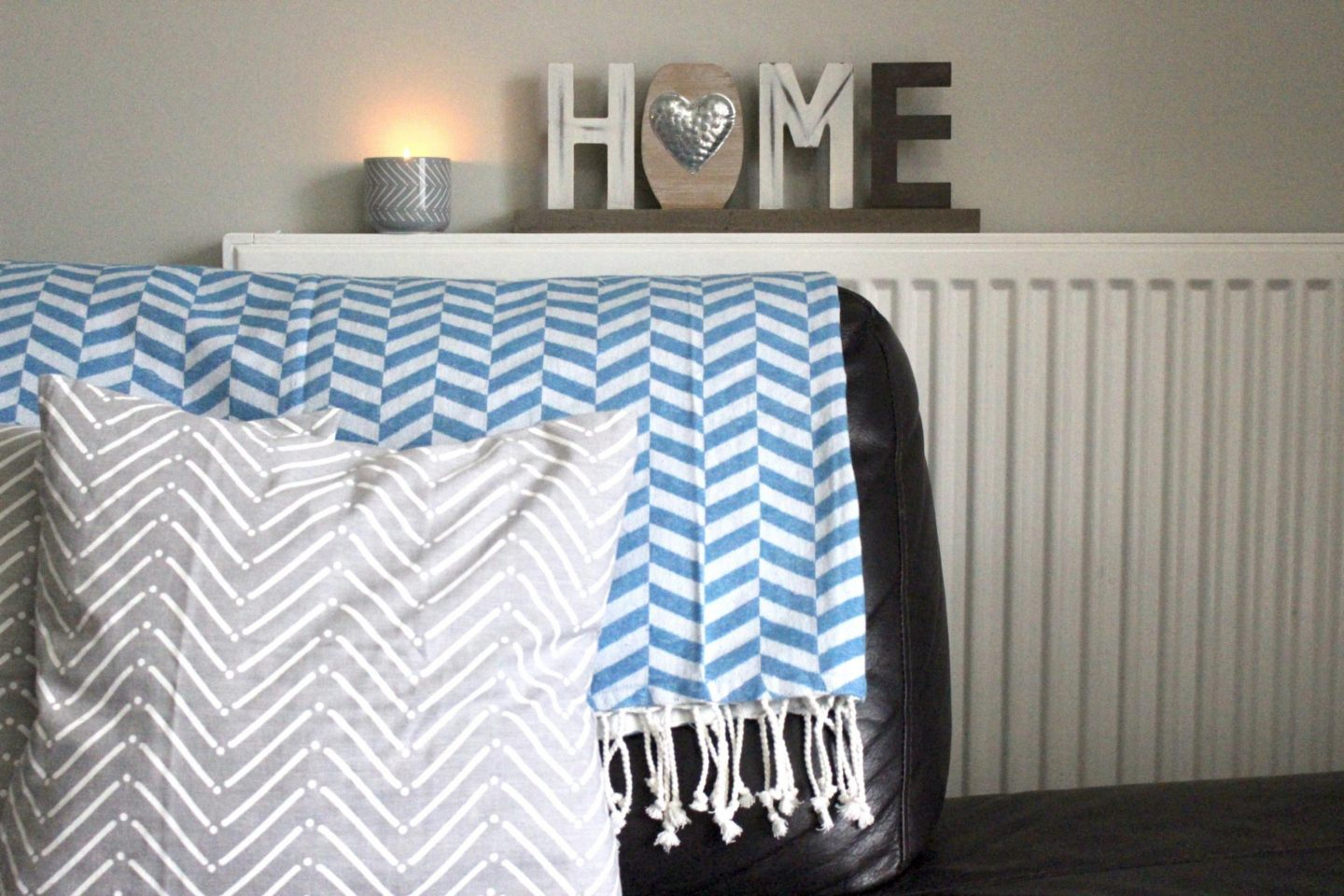 HEMA throws and decoration