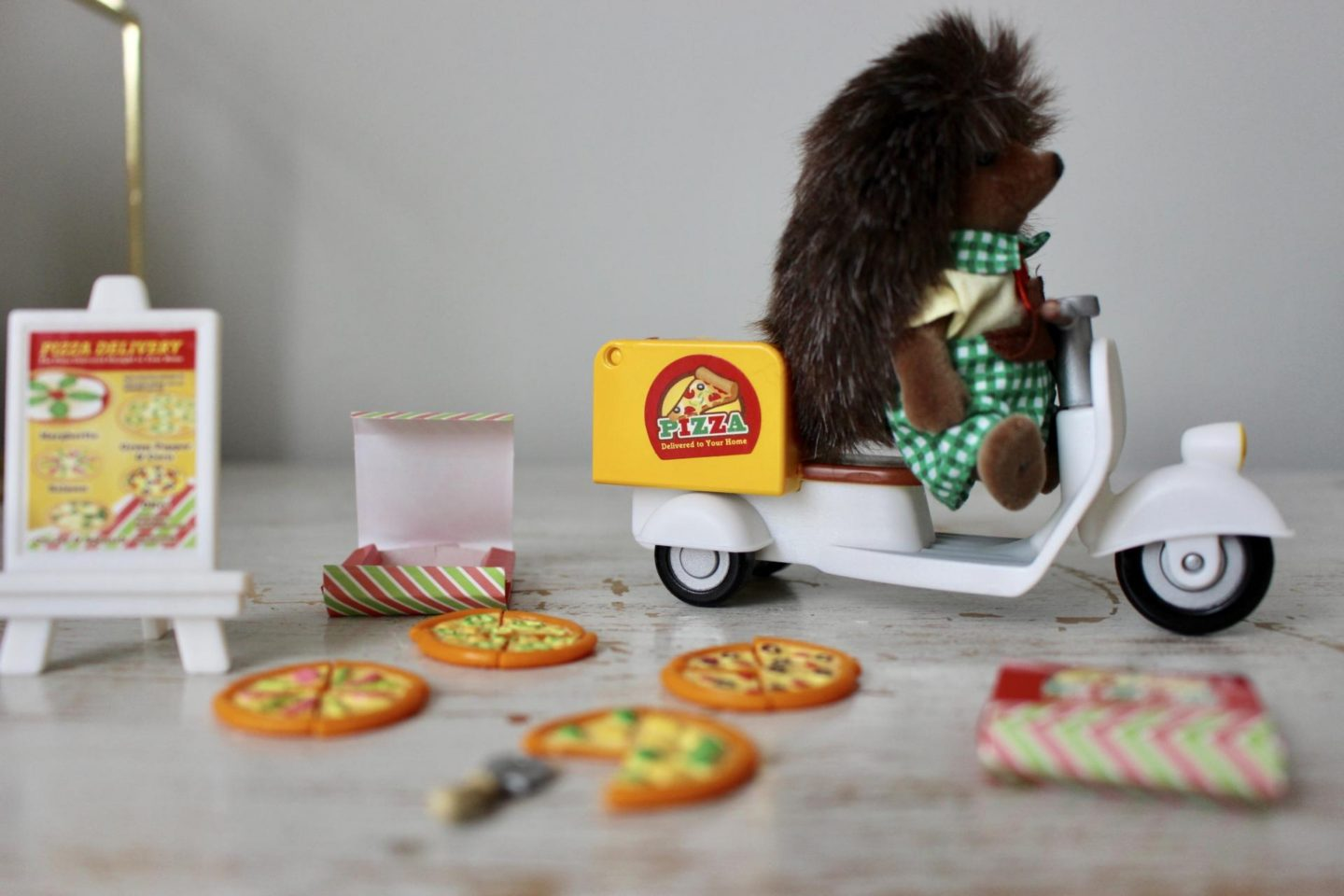 Sylvanian Families Pizza Delivery Set – Giveaway