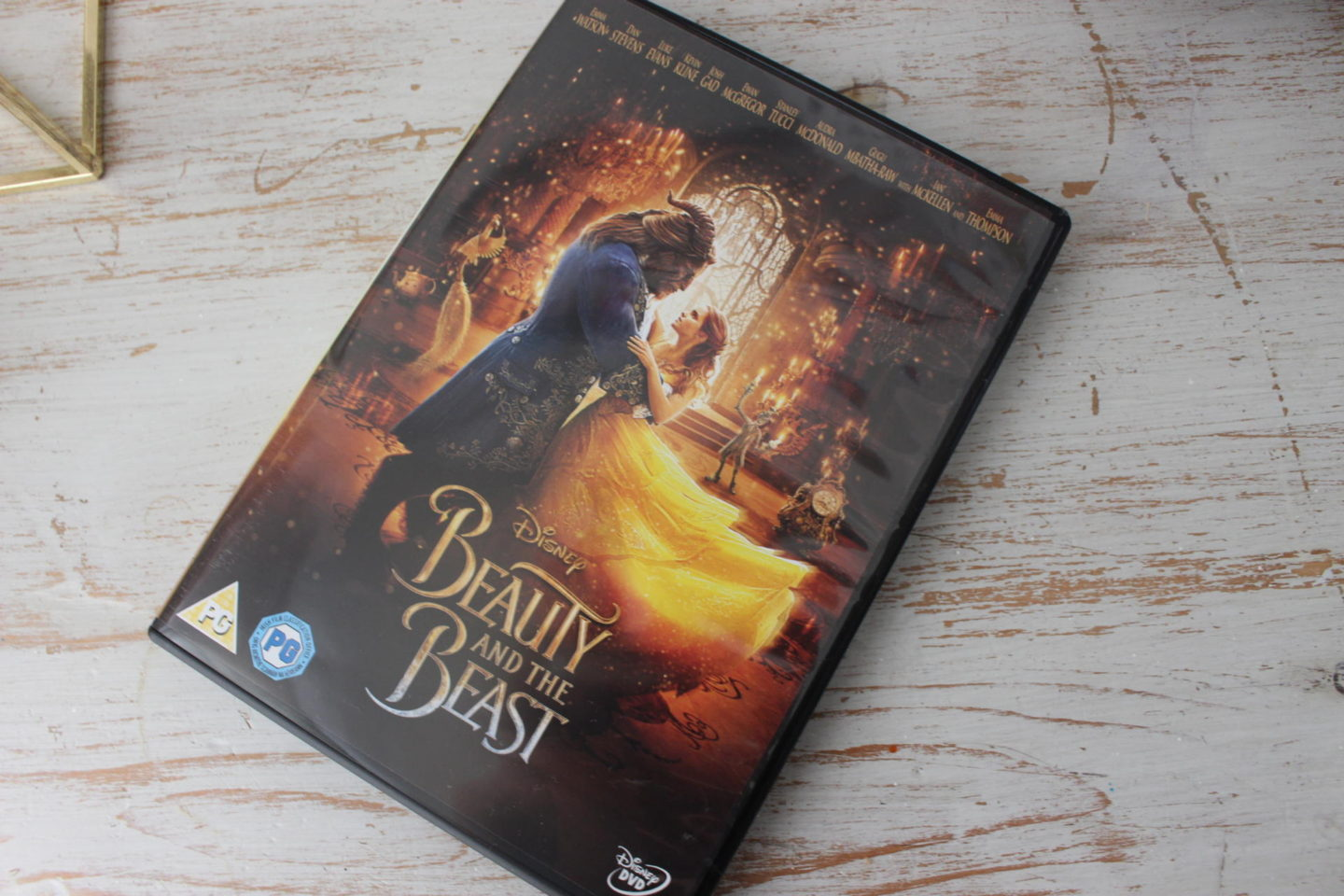 Beauty & The Beast on DVD
