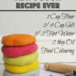 Easiest Play Dough Recipe EVER!