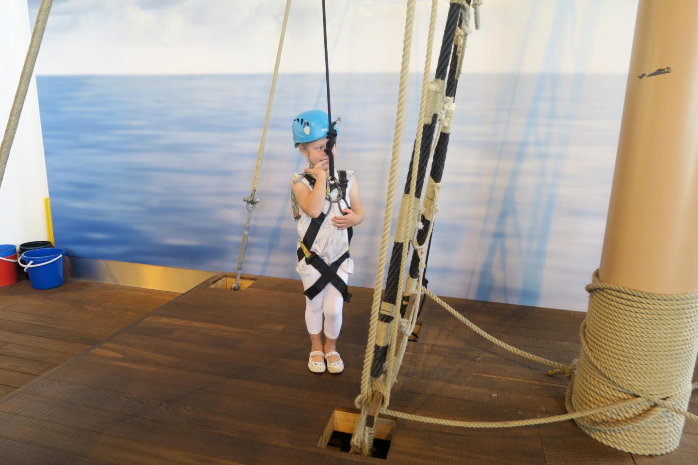 Portsmouth Historic Dockyard Mast climbing