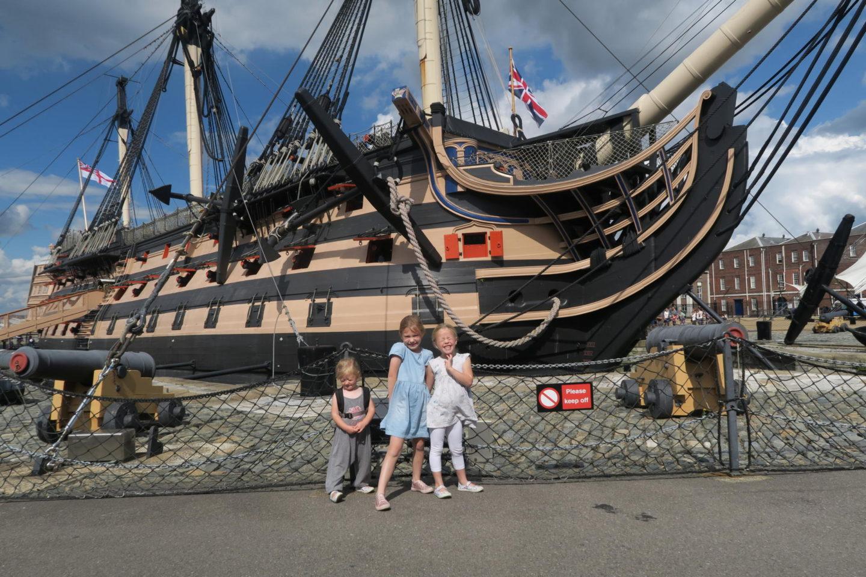 Portsmouth Historic Dockyard HMS VICTORY