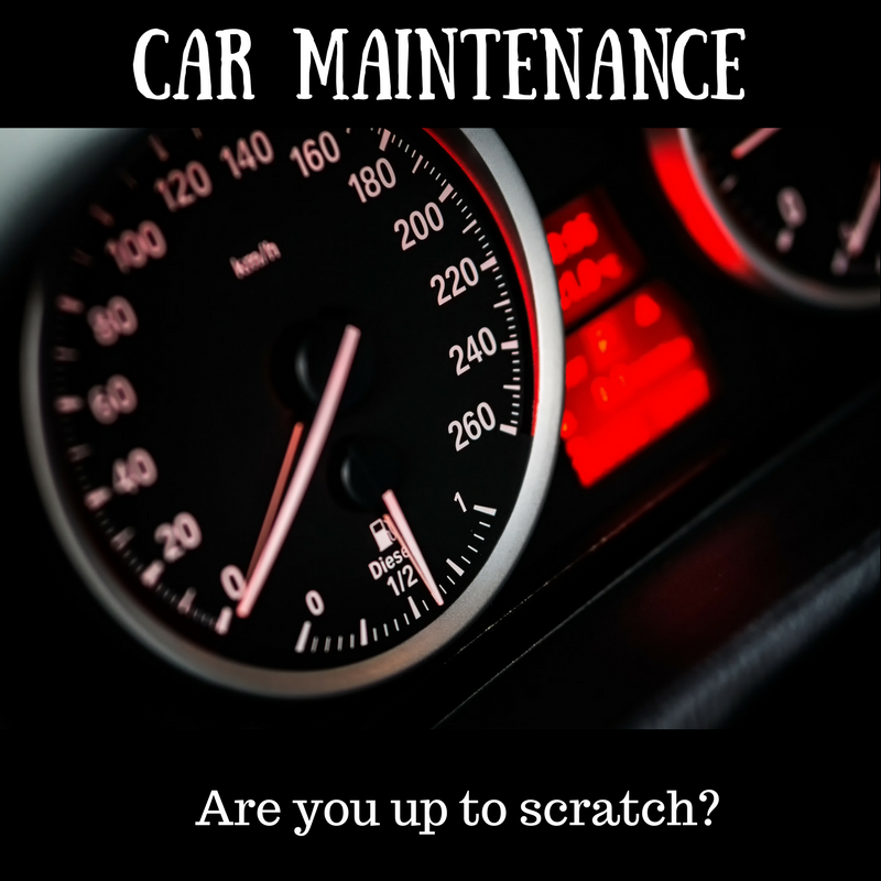 Can you maintain your own car?